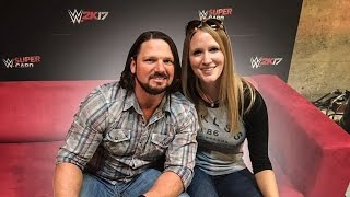 getlinkyoutube.com-WOULD YOU RATHER W/ WWE CHAMPION AJ STYLES !!!