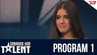 Sabrina Nielsen - Danmark har talent - Program 1