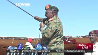 getlinkyoutube.com-Sudan army conducts large-scale military drills to boost soldiers' skills