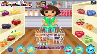getlinkyoutube.com-Baby shopping Dole - Dora the Explorer -  Dole game