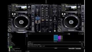 getlinkyoutube.com-Descargar e Instala el Skin Pioneer CDJ-2000 mixer - DJM-800 Para Virtual DJ 7