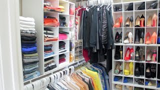 getlinkyoutube.com-Peakmill's Closet Tour 2014| How I Organize My Clothes, Shoes, Bags, Jewelry, ETC