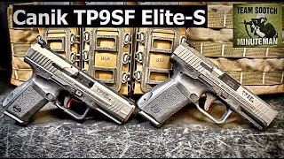 Canik TP9SF Elite & Elite-S Comparison