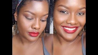 getlinkyoutube.com-Maquillaje de 15 Min Rápido y Fácil / Colaboración con AfroPower TUTORIAL DC....