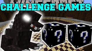 getlinkyoutube.com-Minecraft: GODZILLA CHALLENGE GAMES - Lucky Block Mod - Modded Mini-Game