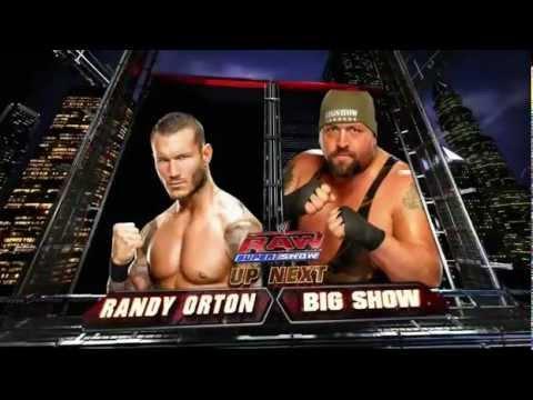 WWE Raw-2-13-12-Big Show Vs Randy Orton Full Match