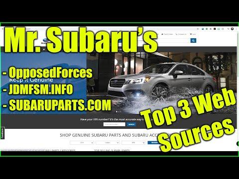 Mr. Subaru's Top 3 Subaru Web Sources: The Info You Need!