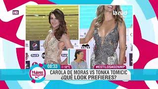getlinkyoutube.com-¿Tonka Tomicic o Carola de Mora? El duelo en estilos de las carismáticas animadoras de televisión