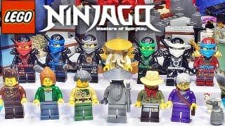 레고 닌자고 에어짓주 사원 70751 미니피겨 12종 소개 Lego NINJAGO Temple of Airjitzu mini figures