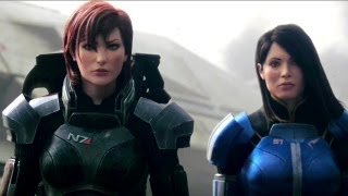 "getlinkyoutube.com-Mass Effect 3 - ""Female Shepard"" Launch Trailer (2012) Game HD"