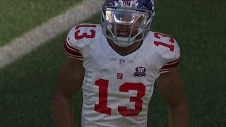 getlinkyoutube.com-Odell Beckham Jr EPIC Late Game Touchdown Catch! Live Commentary - Madden 15 Online Gameplay