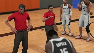 getlinkyoutube.com-NBA 2K16 PS4 My Career - 2K Camera Practice! Gym Rat Badge