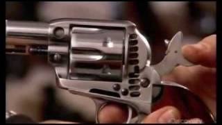 getlinkyoutube.com-How It's Made - Uberti Revolvers
