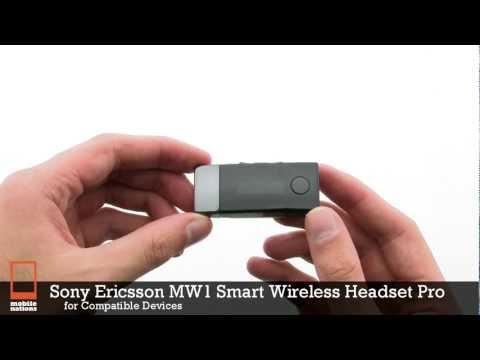 Sony Ericsson MW1 Smart Wireless Headset Pro