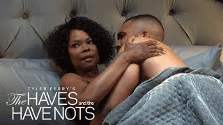 David Catches Veronica in Bed with Benny | Tyler Perry's The Haves and the Have Nots | OWN width=