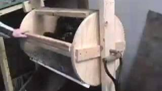 getlinkyoutube.com-Compost sieve - rotary