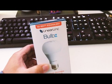 GoControl Z-Wave Dimmable LED Light Bulb LB60Z-1 Unboxing/Installation and Review