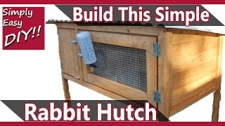 getlinkyoutube.com-Build a Rabbit Hutch Design #2