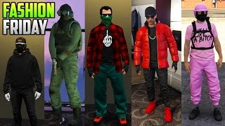 getlinkyoutube.com-GTA 5 Online FASHION FRIDAY (Ghost 2. All Pink, Classy Outfits & More!)