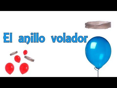 El anillo volador - Levitación casera (Experimentos Caseros para niños)