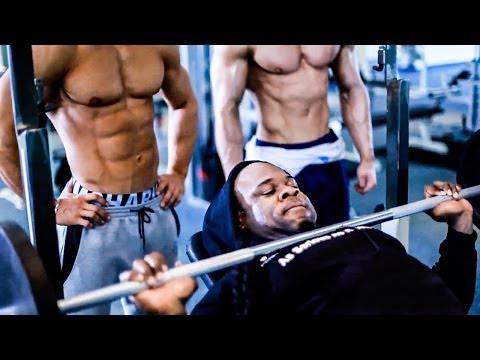 Workout W/ @KaiGreene @Jeff_Seid & @alongabbay (Full Video)
