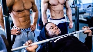 getlinkyoutube.com-Workout W/ Kai Greene Jeff Seid & Alon Gabbay (Full Video)