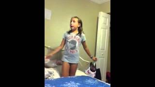 Jumping on bed and falling