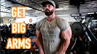 GET BIGGER ARMS TODAY!