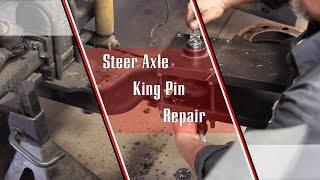 getlinkyoutube.com-Steer Axle King Pin Replacement