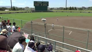 朝倉VS九国大付 97回夏季全国高校野球選手権福岡大会準決勝