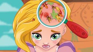 getlinkyoutube.com-Princess Video Game - Rapunzel Hair Doctor - Enjoydressup.com