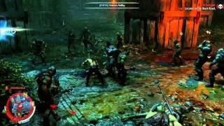 getlinkyoutube.com-Middle Earth: Shadow of Mordor - Combat and Executions (Basement Hero vs 100 Orcs)