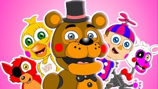 getlinkyoutube.com-♪ FIVE NIGHTS AT FREDDY'S WORLD THE MUSICAL - FNAF Animation Parody Song