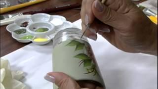 getlinkyoutube.com-Mulher.com 16/01/2013 Mamiko Yamashita Barletta - Reciclagem de vidro 1/2