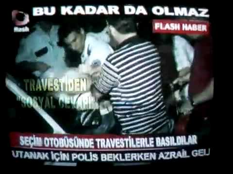 CHP seim otobsnde travestilerle fuhu - Baykal erken kat