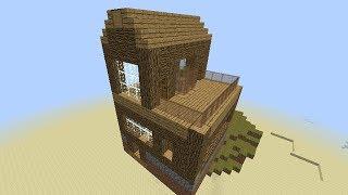 getlinkyoutube.com-Minecraft Command Block - Flying House