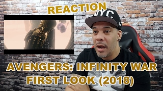 getlinkyoutube.com-Avengers: Infinity War First Look (2018) REACTION!!!