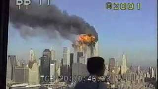 getlinkyoutube.com-911 second Plane hits second WTC tower - with sound - archival stock footage