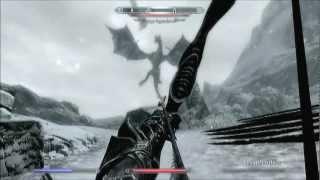 getlinkyoutube.com-Skyrim Dawnguard - Drago Leggendario