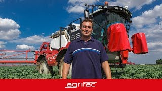 Agrifac Condor - user experience - Grant (United Kingdom)