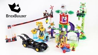 getlinkyoutube.com-Lego Super Heroes 76035 Jokerland - Lego Speed Build