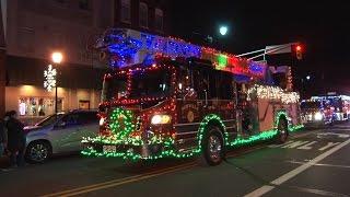 getlinkyoutube.com-2016 Somerville, NJ Fire Department Holiday Light's Parade  12/3/16