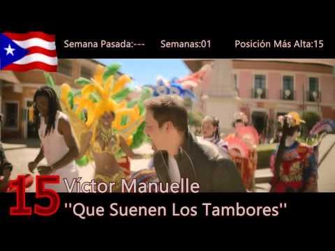 Top 30 Música Latina Solo en Español 10 de Ene