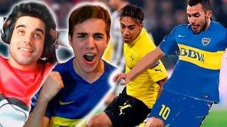 getlinkyoutube.com-TEVEZ BAILANDO A AUBAMEYANG | VS TOBBAL | FIFA 16 Ultimate Team