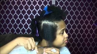 getlinkyoutube.com-How To Tapered Haircut on Natural Hair ✿ How to Cut Natural Hair Tutorial ✿ Kimmy Boutiki
