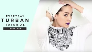getlinkyoutube.com-Ascia AKF: My Everyday Turban Tutorial