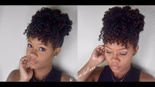 getlinkyoutube.com-2 Simple Fall Natural Hairstyles | Loveisbellaaa