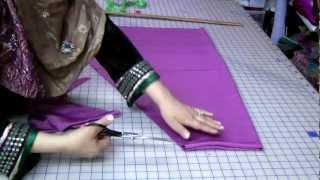 getlinkyoutube.com-Simple Salwar Cutting