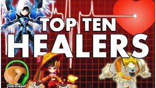 getlinkyoutube.com-SUMMONERS WAR : Top 10 Healers!