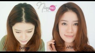 getlinkyoutube.com-REVIEW || นีน่าทำสีผมเองครั้งแรก กับ Liese Bubble Hair Color || NinaBeautyWorld